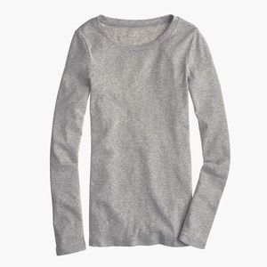 J. Crew Long Sleeve Perfect Fit Tee XS